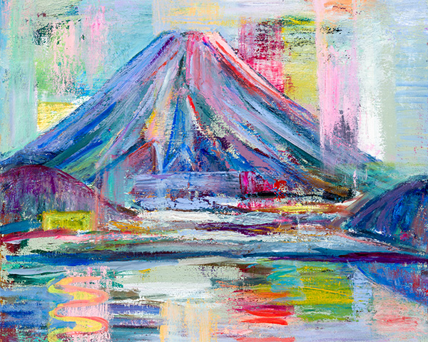 金家秀男「富士山と語る」展 そのⅡ